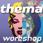 thema zeefdruk workshop