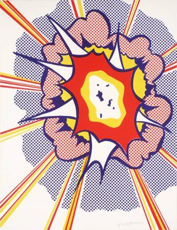 Roy Lichtenstein, Explosion, 1965