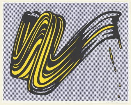 Brushstroke, 1965, lichtenstein